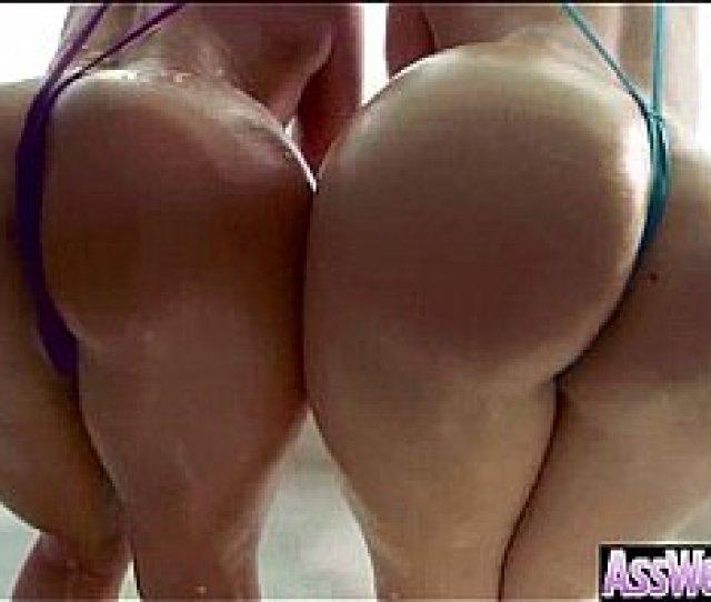 Horny Girl Aj Savannah With Big Oiled Wet Butt Get It Deep In Ass Clip