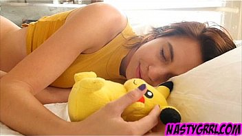 Bokep Cece Capella wants Pika to put his pokemon dick deep in her hole