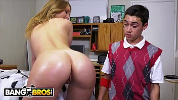 BANGBROS - Lucky Young Punk Fucks PAWG In Her Dorm Room