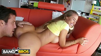 XXX BANGBROS - Sexy Blonde PAWG Nicole Aniston Gets Her Pussy Packed With Meat