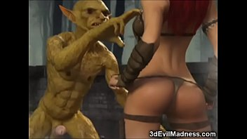 Bokep A cute young fairy gets wrecked by an ogre with a monster cock!