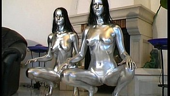 Bokep Painted babes transformations