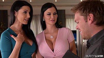 Bokep Convincing Arguments: Two Lesbians Swallow Realtor's Sperm