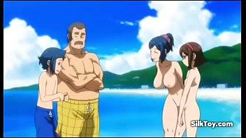 Anime Beach nudist girls