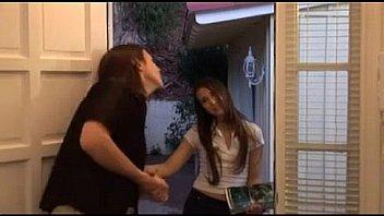 Bokep Door to door sales girl barely legal MUST SEE