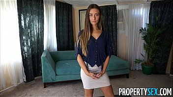 Bokep Property sex - slutty sales woman does whatever it takes to sell the house