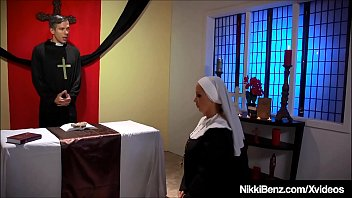 Catholic School Girls gone Nuns, Nikki Benz & Jessica Jaymes bang a priest in this controversial clip! Full Video & Nikki Live @ NikkiBenz.com!