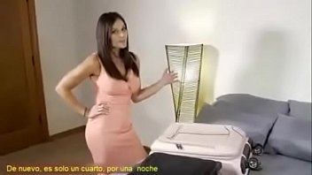 Bokep Mom finally gives in to horny step son (Subs in Spanish)