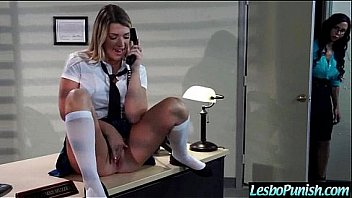 Lesbians Girls (jenna&jewels) Punishing Each Other With Sex Dildos clip-26