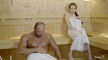 Bokep LETSDOEIT - Cute Babe Fucks With A Lusty Daddy At The Sauna