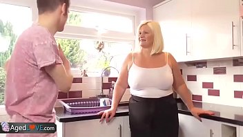 Video Bokep Agedlove granny chubby Lacey bang with Sam-