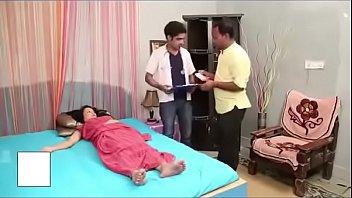 XXX Porn Indian brunette seduces her doctor