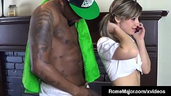 Black Bull Rome Major plows his huge black dick deep into School Girl, Jayla Diamond, shooting his spunk, right in her filthy pie hole! Full Video & Watch Me Fuck More Chicks @ RomeMajor.com!