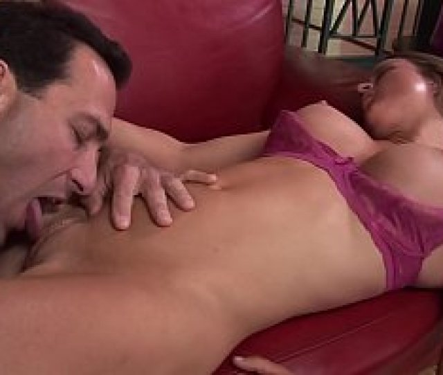 Slim Bodied Slut With Sexy Pink Lingerie Enjoys Her Man Licking Her Pussy