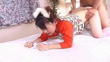 Bokep Adorable and cute pigtail Asian teen getting hammered
