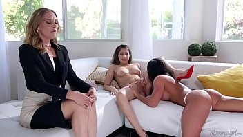 Bokep Mommy's little girl is a lesbian! - Nina North, Aspen Rae and Mona Wales