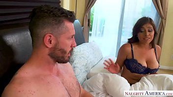 Bokep Ella Knox's knockers are huge and natural Naughty America!
