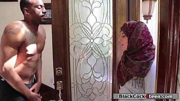 Bokep Hot arab babe rammed hard by her neighbors big black dick