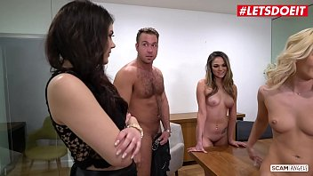XXX SCAM ANGELS - Bella Rose And Athena Faris Are Having Some Hardcore Fun With Their Boss
