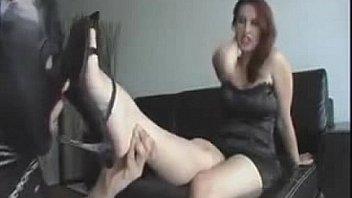Bokep Kimberly foot slave