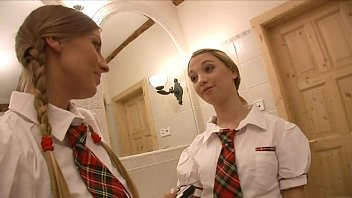 Bokep Two lazy schoolgirls Morgan Moon and Mina were left at maths classroom to get make-up class