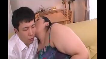BBW Japanese Aunt and Nephew