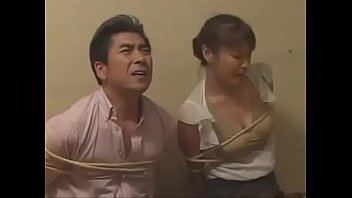 Bokep Japanese family forced to fuck by intruder 1