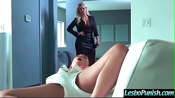 (Phoenix Marie & Amara Romani) Lesbos Girls In Punish Sex Scene Clip-26