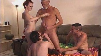 TEEN Slut and some BI-Step-Brothers
