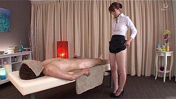 XXX Porn Subtitled traditional Japanese bottomless massage Yui Hatano
