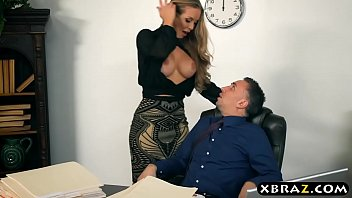 XXX Porn New secretary blows and fucks her boss on her first day