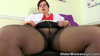 English BBW milf Jayne Storm is showing off her well rounded and voluptuous body before she takes care of her mature pussy. Now available in Full HD 1080P. Bonus video: British BBW milf Samantha Sanders.