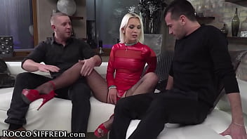 She's Double-Fucked By Her Husband & His BFF