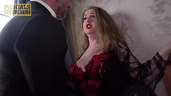 Busty sub in stockings anal domination