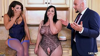 Bokep Husband's Happy Threesome Surprise on His Birthday
