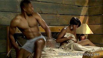 Bokep Aunt Viv takes fucks Wills best friend in black porn parody
