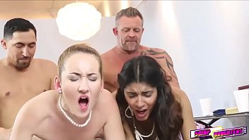 XXX White and Indian girls swap sex