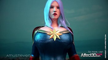 Bokep Superhero 3d animation with a big tits beauty