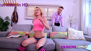 Bokep Banging Family - It's Funny Teasing My Step-Dad !