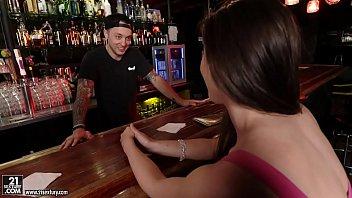 Bokep Casey Calvert fucks at a bar