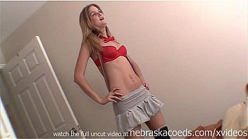 Bokep girlfriend trying on halloween costumes in hotel room private vacation homevideo