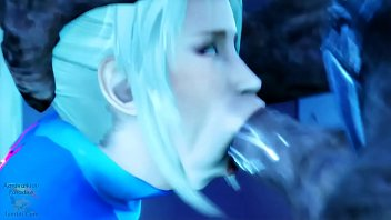 SAMUS ARAN GETS POUNDED THE s. OUT OF HER BIG FAT ASS BY DISGUSTING MONSTER