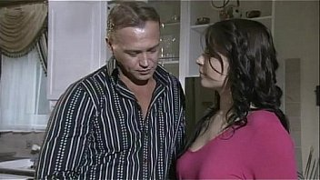 Bokep Cute brunette fucked in the kitchen
