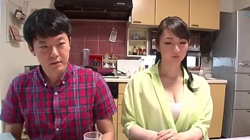 Stepson Banged His Japanese Mom On Dinner Table www.stepfamilyxxx.com