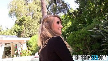 Bokep PropertySex - Unboxing video turns into sex video with hot real estate agent