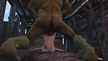 Fallout 4 Fuck me Big Green