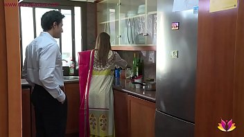 Slutty Indian whore fucks husband's boss