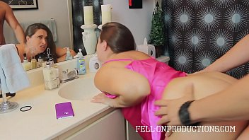 Bokep Madison lee rough banged in bathroom