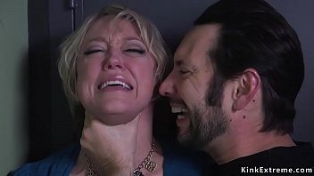 Bokep Grown guy Tommy Pistol finally captured his former sitter a huge tits Milf Dee Williams and in his home in rope bondage rough anal fucked her