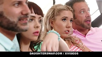 Porno Bokep DaughterSwap - Beautiful Teens Fuck Each Other's Dads